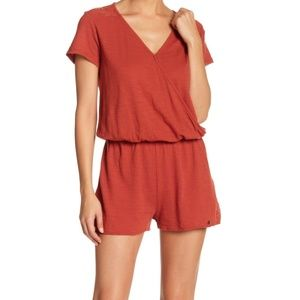 NWT Roxy salty romper jumpsuit shorts